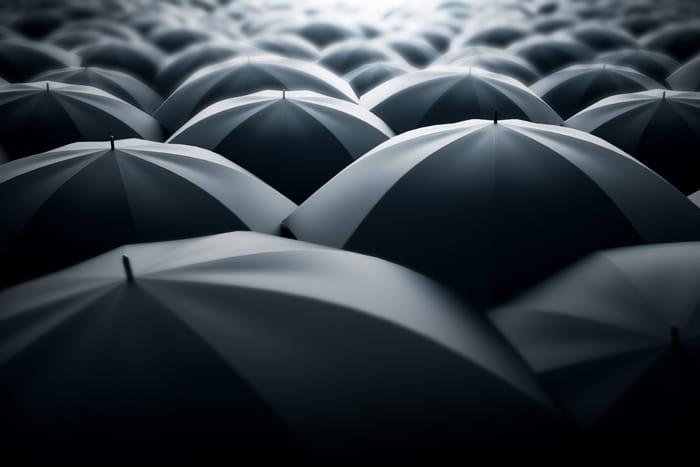 umbrellas bad weather